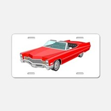 1968 Cadillac Convertible Aluminum License Plate