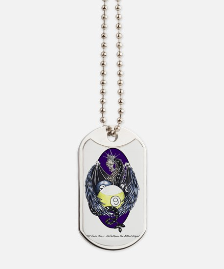 Dragon Nest Billiard Ball Trove Dog Tags