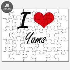 I love Yams Puzzle