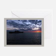 LHD 7 USS Iwo Jima Greeting Card