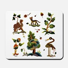 Castlemaine Jacobean Embroidery Mousepad