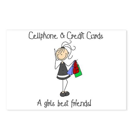 Girls Best Friends Postcards (Package of 8)