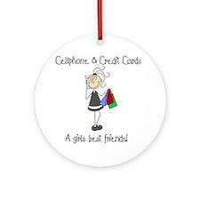Girls Best Friends Ornament (Round)