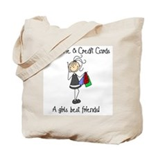 Girls Best Friends Tote Bag