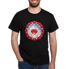 PATRIOTIC HEARTS T-Shirt
