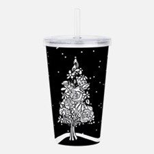 Unique Tacky christmas Acrylic Double-wall Tumbler