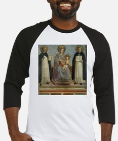 Mother Mary and Child Baseball Jersey