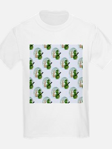 snowman army christmas T-Shirt