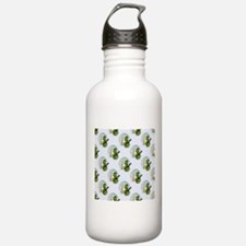 snowman army christmas Water Bottle