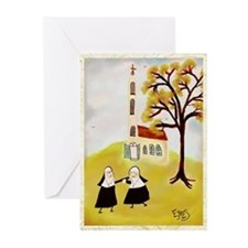 Unique Nuns Greeting Cards (Pk of 20)