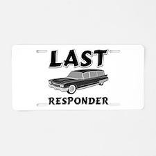 Last Responder Aluminum License Plate