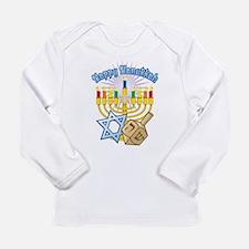 Unique Hanukkah Long Sleeve Infant T-Shirt