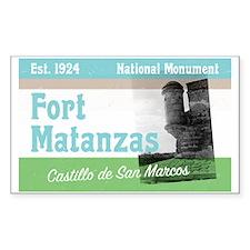 Fort Matanzas Florida Decal