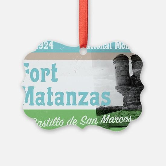 Fort Matanzas Florida Ornament