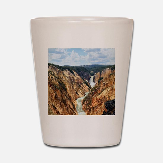 YELLOWSTONE GC Shot Glass