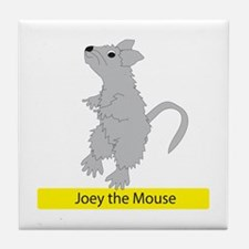 Joey The Mouse Tile Coaster