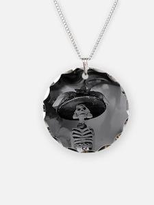 Mexican Catrina Necklace
