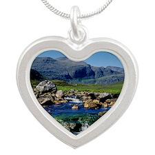 THE CLISHAM Silver Heart Necklace