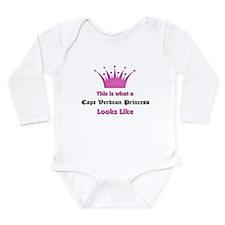 Cute Cape verde Long Sleeve Infant Bodysuit