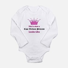 Unique Cape verde Long Sleeve Infant Bodysuit