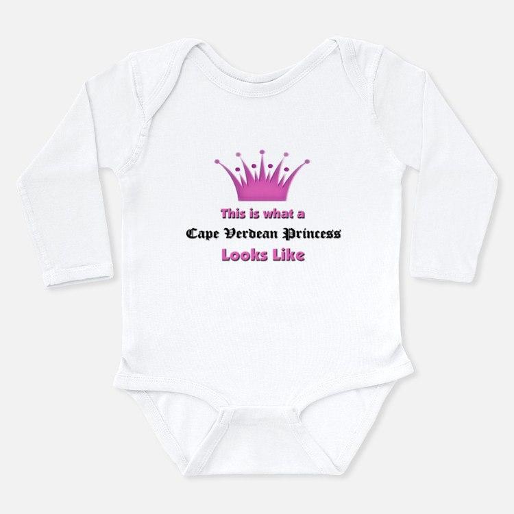 Cute Cape verdeans Long Sleeve Infant Bodysuit