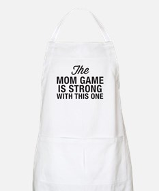 Mom Game Is Strong Light Apron