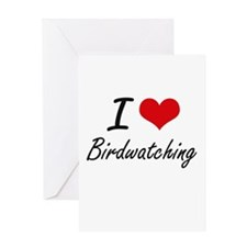 I love Birdwatching Greeting Cards