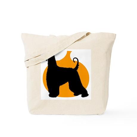 Afghan Hound Halloween Tote Bag