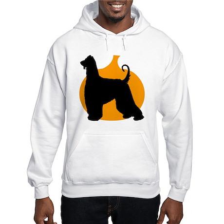 Afghan Hound Halloween Hooded Sweatshirt