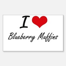 I love Blueberry Muffins Decal