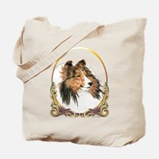 Shetland Sheepdog Sheltie Holiday Tote Bag