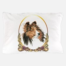 Shetland Sheepdog Sheltie Holiday Pillow Case