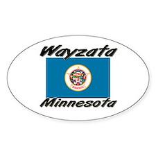 Wayzata Minnesota Oval Decal