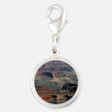 GRAND CANYON 2 Silver Round Charm