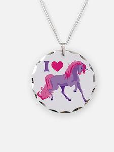 I Love Unicorns Necklace