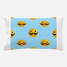 movember emoji Pillow Case