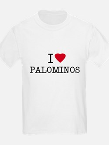 I Heart Palominos Kids T-Shirt