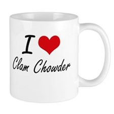 I love Clam Chowder Mugs