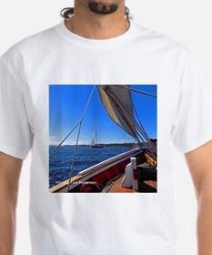 Camden Maine Sailboats Shirt
