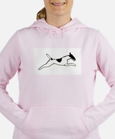 Leaping Smooth Fox Terrier Sweatshirt