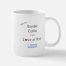 Border Collie Lick Mug