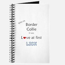 Border Collie Lick Journal