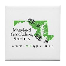 MGS Classic Logo Tile Coaster