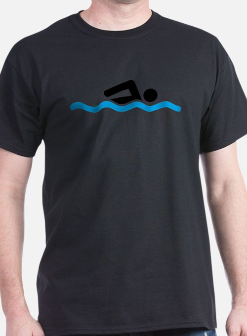 Cute Swimming T-Shirt