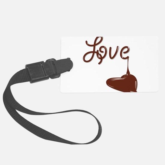 Love chocolate Luggage Tag