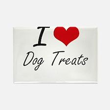 I love Dog Treats Magnets