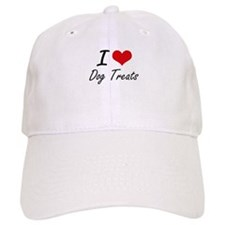 I love Dog Treats Baseball Cap
