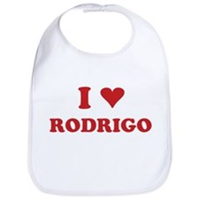 I LOVE RODRIGO Bib
