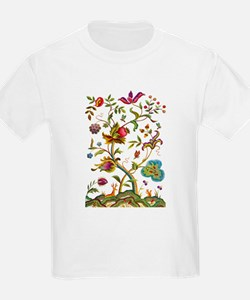 Tree of Life Jacobean Embroider T-Shirt