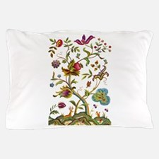 Tree of Life Jacobean Embroidery Pillow Case